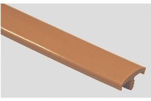 Профиль ПВХ № 01 бежевый - Оптовый поставщик комплектующих «Профильпласт»