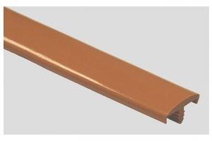 Профиль ПВХ № 03 вишня бежевый - Оптовый поставщик комплектующих «Профильпласт»