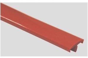 Профиль ПВХ № 09 красный - Оптовый поставщик комплектующих «Профильпласт»
