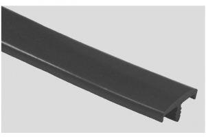 Профиль ПВХ № 10 черный - Оптовый поставщик комплектующих «Профильпласт»
