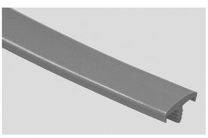 Профиль ПВХ № 15 темно-серый - Оптовый поставщик комплектующих «Профильпласт»