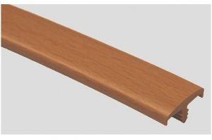 Профиль ПВХ № 17 бук - Оптовый поставщик комплектующих «Профильпласт»
