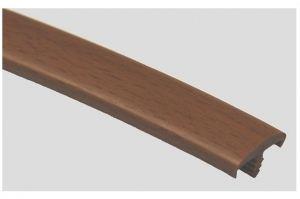 Профиль ПВХ № 18 орех - Оптовый поставщик комплектующих «Профильпласт»