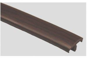 Профиль ПВХ № 21 махагон - Оптовый поставщик комплектующих «Профильпласт»
