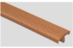 Профиль ПВХ № 24 бук светлый - Оптовый поставщик комплектующих «Профильпласт»