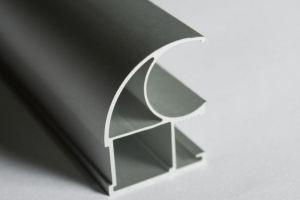 Профиль вертикальная ручка С - Оптовый поставщик комплектующих «Завод анодирования 25 Микрон»