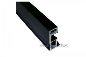 Профиль вертикальный черный 16456 - Оптовый поставщик комплектующих «ГРАТИС»