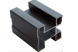 Профиль вертикальный для шкафа-купе Венге матовый - Оптовый поставщик комплектующих «Фурор»
