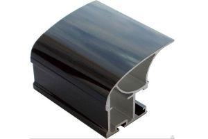 Профиль вертикальный Люкс Венге глянец - Оптовый поставщик комплектующих «Фурор»