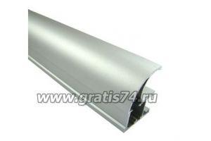 Профиль вертикальный открытый серебро 15126 - Оптовый поставщик комплектующих «ГРАТИС»