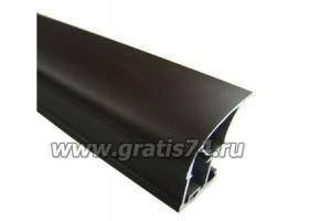 Профиль вертикальный широкий Коньяк 3080 - Оптовый поставщик комплектующих «ГРАТИС»