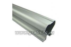 Профиль вертикальный закрытый серебро 3878 - Оптовый поставщик комплектующих «ГРАТИС»