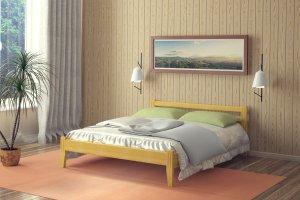 Простая кровать Южанка - Мебельная фабрика «DM- darinamebel»