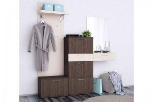 Простая прихожая Сингл - Мебельная фабрика «Первая мебельная фабрика»