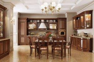 Просторная кухня Classico  Tosca - Импортёр мебели «Latini»