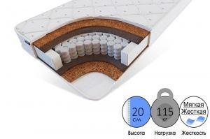 Пружинный матрас Поллинг эко-био - Мебельная фабрика «FURNY»