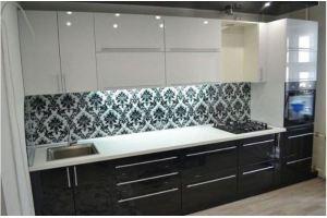 Прямая глянцевая кухня - Мебельная фабрика «Династия»