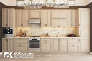 Прямая классическая кухня - Мебельная фабрика «ДОК-Сервис»