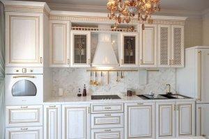 Прямая классическая кухня - Мебельная фабрика «Элна»