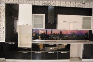 Прямая комбинированная кухня - Мебельная фабрика «ДОН-Мебель»