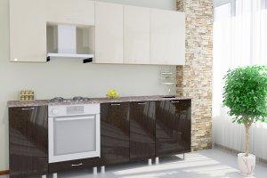 Прямая кухня 10 - Мебельная фабрика «Модерн»