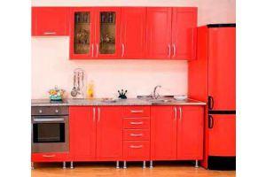 Прямая кухня 2 - Мебельная фабрика «Эмкор-96»
