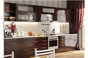 Прямая кухня - Мебельная фабрика «Папа Карло»