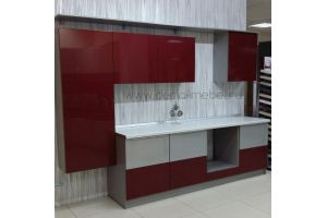 Прямая кухня - Мебельная фабрика «Дэрия»