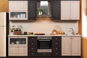 Прямая кухня 22 - Мебельная фабрика «Модерн»