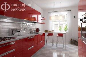 прямая КУХНЯ №27 - Мебельная фабрика «Философия мебели»