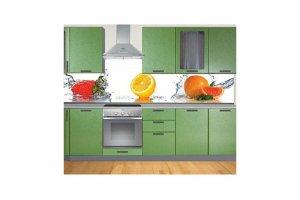 Прямая кухня 3 - Мебельная фабрика «Эмкор-96»