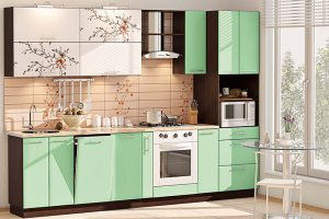 Прямая кухня 30 - Мебельная фабрика «Модерн»