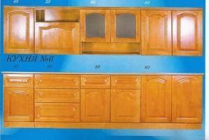 Прямая кухня 6 - Мебельная фабрика «Mebilius»
