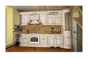 Прямая кухня Агата - Мебельная фабрика «Gavas-St», г. Ставрополь