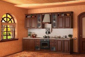 Прямая кухня Анастасия 4 - Мебельная фабрика «ВиАл»