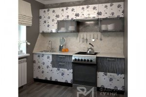 прямая кухня Азалия - Мебельная фабрика «Фабрика кухни РМ»