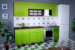 прямая кухня Б - Мебельная фабрика «РиАл», г. Волжск