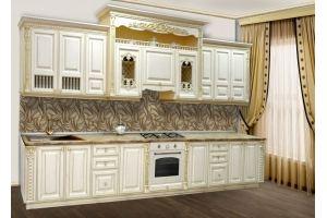 Прямая кухня Бари - Мебельная фабрика «Прометей»