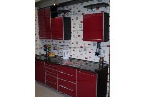 Прямая кухня Бордо - Мебельная фабрика «Древека»