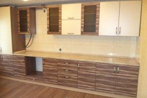 Прямая кухня Эбони+ - Мебельная фабрика «Мебель РОСТ»