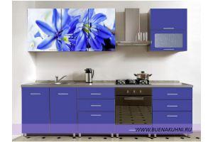 Прямая кухня фасад фотопечать - Мебельная фабрика «Buena»