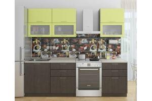Прямая кухня (фасады в пленке ПВХ) - Мебельная фабрика «Проспект мебели»