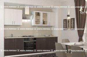 Прямая кухня Формат - Мебельная фабрика «Мебель Поволжья»