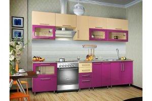Прямая кухня Глория глянец - Мебельная фабрика «Прима-сервис»