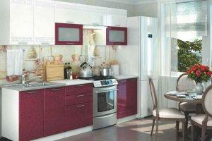 Прямая кухня греция - Мебельная фабрика «Стайлинг»