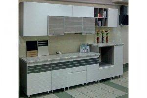 Прямая кухня калейдоскоп - Мебельная фабрика «Кухни-АСТ»