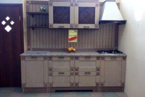Прямая кухня кантри - Мебельная фабрика «Астарта»