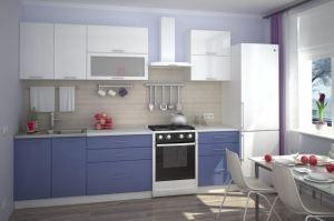 Современная прямая кухня - Мебельная фабрика «Проспект мебели»