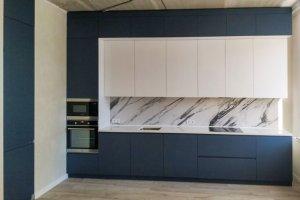 Прямая кухня Матовая - Мебельная фабрика «Крафт»