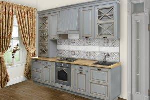 Прямая кухня Модена - Мебельная фабрика «Прометей»